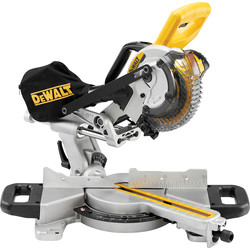 DeWalt DeWalt DCS365N-XJ 18V XR Cordless 184mm Sliding Compound Mitre Saw Body Only - 56314 - from Toolstation