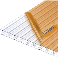 Axiome Axiome 16mm Polycarbonate Clear Triplewall Sheet 1000 x 4000mm - 56319 - from Toolstation
