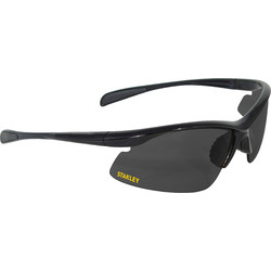 Stanley Stanley 10-Base Curved Half-Frame Safety Glasses Smoke - 56335 - from Toolstation