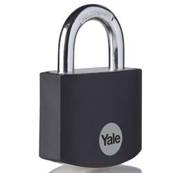 Yale Aluminium Padlock Black
