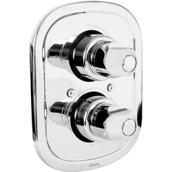Deva Deva Contemporary Concealed Thermostatic Shower Valve  - 56368 - from Toolstation