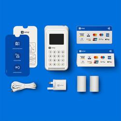 SumUp 3G+ WiFi Card Reader Payment Kit