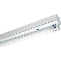 Fluorescent Batten Fitting LPF 1200mm 36W Single - 56581 - from Toolstation