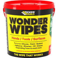Everbuild Everbuild Multi Use Wonder Wipes 300 Wipes - 56601 - from Toolstation