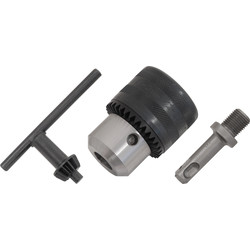Toolpak Keyed Chuck with SDS Adaptor & Key 13mm - 56617 - from Toolstation