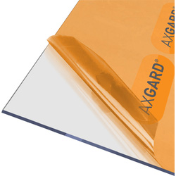 Axgard Axgard 4mm Polycarbonate Clear Impact Resisting Glazing Sheet 1000 x 3050mm - 56646 - from Toolstation