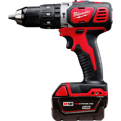 Milwaukee Milwaukee M18BPD 18V Li-Ion Cordless Compact Combi Drill 1 x 3.0Ah - 56678 - from Toolstation