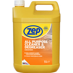 Zep Zep Commercial All Purpose Cleaner & Degreaser 5L - 56718 - from Toolstation