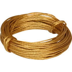 Brass Picture Wire 6m - 56743 - from Toolstation