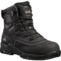 Magnum Magnum Broadside Waterproof Safety Boots Size 10 - 56772 - from Toolstation