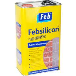 Feb Feb Silicon External Waterproofer 5L - 56806 - from Toolstation