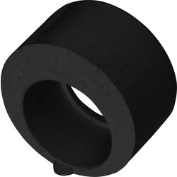 Aquaflow Solvent Weld Overflow Reducer 21.5mm x 32mm Black - 56825 - from Toolstation