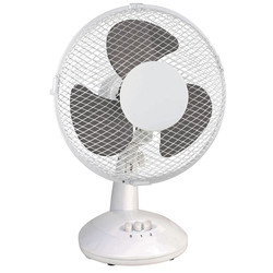 "Airmaster Desk Fan 9"" 2 Speed 30W - 56887 - from Toolstation"