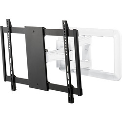 "Titan BFMO 8060 Full Motion Wallmount TV Bracket 85"" White - 56979 - from Toolstation"