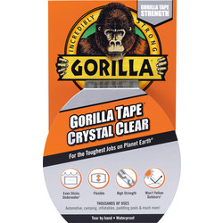 Gorilla Glue Gorilla Crystal Clear Tape 48mm x 8.2m - 57078 - from Toolstation