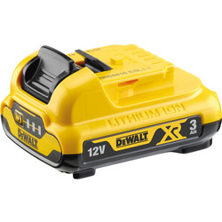 DeWalt DeWalt 12V XR Battery 3.0Ah - 57254 - from Toolstation