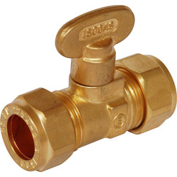 Isolating Gas Ball Valve 15mm