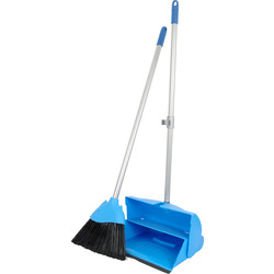 Long handle Dustpan & Brush Set  - 57354 - from Toolstation