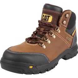 Cat Caterpillar Framework Safety Boots Brown Size 8 - 57380 - from Toolstation