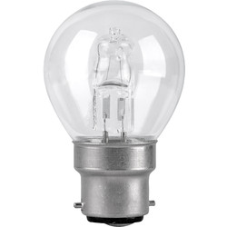 Corby Lighting Corby Lighting Halogen Mini Globe Dimmable Lamp 28W  B22/BC 370lm - 57456 - from Toolstation