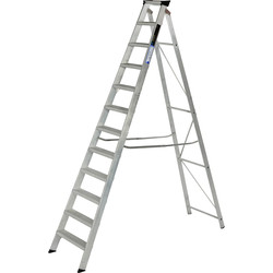 Youngman Youngman Industrial Builders Step Ladder 12 Tread SWH 3.65m - 57486 - from Toolstation