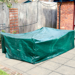 Large Garden Patio Set Cover with steel plated eyelets
