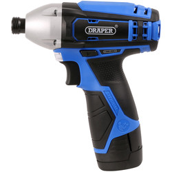 Draper Draper 20847 10.8V Li-Ion Cordless Impact Driver 1 x 1.5Ah - 57643 - from Toolstation