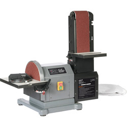 "SIP SIP 01946 500W 8"" x 4"" Belt & Disc Sander 230V - 57680 - from Toolstation"