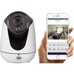 Yale Smart Living Yale Home View PTZ WiFi HD Security Camera  - 57711 - from Toolstation