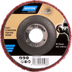 Norton Norton Rapid Strip Abrasive Disc 115mm - 57729 - from Toolstation