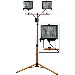 Tripod Site Light Double 800W 230V - 57748 - from Toolstation