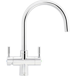 Franke Franke Boiling Water Tap 4-in-1 Chrome - 57775 - from Toolstation