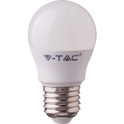 V-TAC V-TAC Smart LED Ball Bulb 4.5W ES RGB+W 300lm - 57807 - from Toolstation
