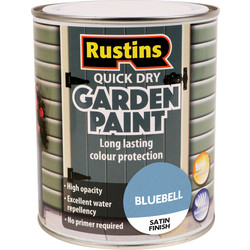 Quick Dry Garden Paint Bluebell 750ml