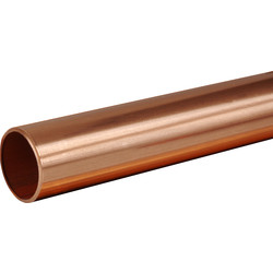 Wednesbury Wednesbury Copper Pipe 22mm x 2m - 58030 - from Toolstation