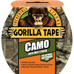 Gorilla Glue Gorilla Camouflage Tape 8m - 58062 - from Toolstation