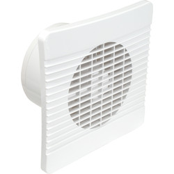Airvent Airvent 150mm Low Profile Extractor Fan Standard Fan - 58082 - from Toolstation