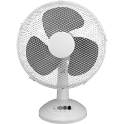 "Airmaster Desk Fan 12"" 3 Speed 40W - 58104 - from Toolstation"