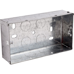 Appleby Appleby Metal Box 2 Gang 35mm - 58111 - from Toolstation