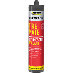 Everbuild Fire Mate Intumescent Acrylic Sealant 310ml White - 58145 - from Toolstation