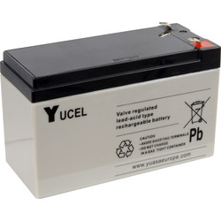 Sealed Lead Acid Battery 6V 3.2Ah 134 x 34 x 67mm