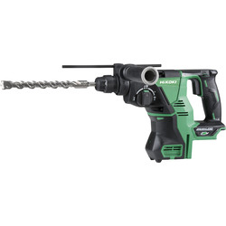 Hikoki Hikoki DH36DPA 36V MultiVolt Brushless Rotary SDS Plus 28mm Hammer Drill Body Only - 58179 - from Toolstation