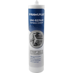 Rawlplug Rawlplug Uni-Repair Xpress Cement Grey 300ml - 58180 - from Toolstation