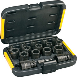 DeWalt DeWalt Impact Socket Set  - 58183 - from Toolstation