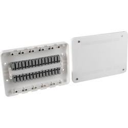 Surewire 7 Way Pre-wired Multiple Light & Switch Junction Box SW7ML-MF - 58205 - from Toolstation