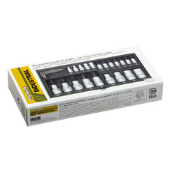 """Proxxon 23102 Premium Torx Socket Set (1/4"""" & 1/2"""")"""