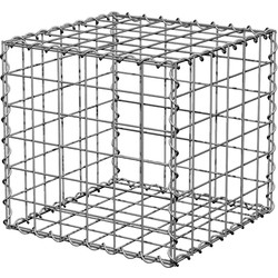 PowaPost Galvanised Landscaping Cube 450 x 450 x 600mm - 58320 - from Toolstation