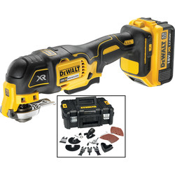 DeWalt DeWalt DCS355 18V XR Cordless Brushless Multi Cutter 1 x 4.0Ah - 58321 - from Toolstation