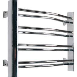Pitacs Aeon Petit Towel Warmer 420 x 600mm Btu 716 Chrome Mild Steel - 58451 - from Toolstation