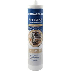 Rawlplug Rawlplug Uni-Repair Xpress Cement Sand 300ml - 58464 - from Toolstation